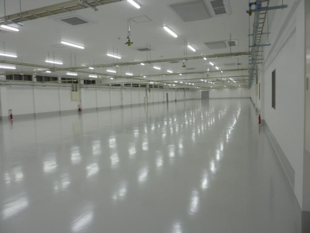 クリーンルーム完備 新長篠工場紹介